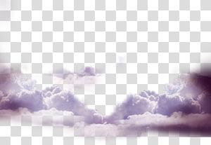 nuages blancs, ressource Cloud Haze, nuages flottants png