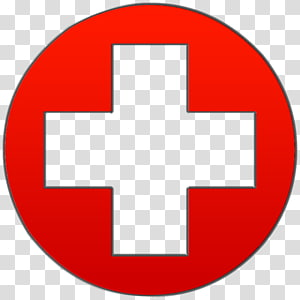 logo de la croix rouge, signe médical de l'hôpital santé, croix médicale png