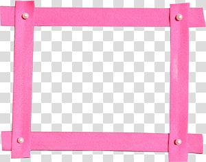 illustration de pensionnaire rose, cadres ordinateur icônes, cadre rose png