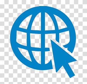 Développement Web Conception Web Logo, site Web, flèche et logo globe png