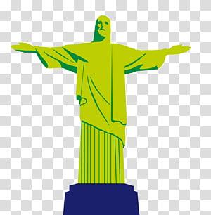 Christ Rédempteur, Christ Rédempteur Corcovado Christ Roi, Brésil, comme Jésus png