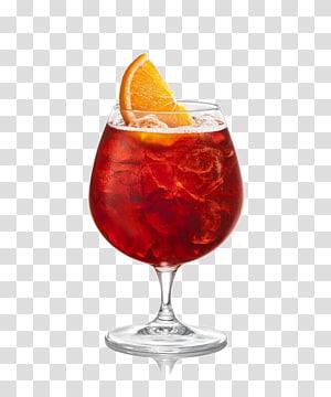 vin rouge avec illustration de tranche d'orange, Jus de Jus de Sangria Spritz Negroni, cocktail de jus png