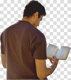 homme lisant un livre, étude biblique Deuxième épître aux Corinthiens Prière Christianisme, lecture png