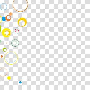 Icône, Matériel abstrait coloré, illustration de bulles png