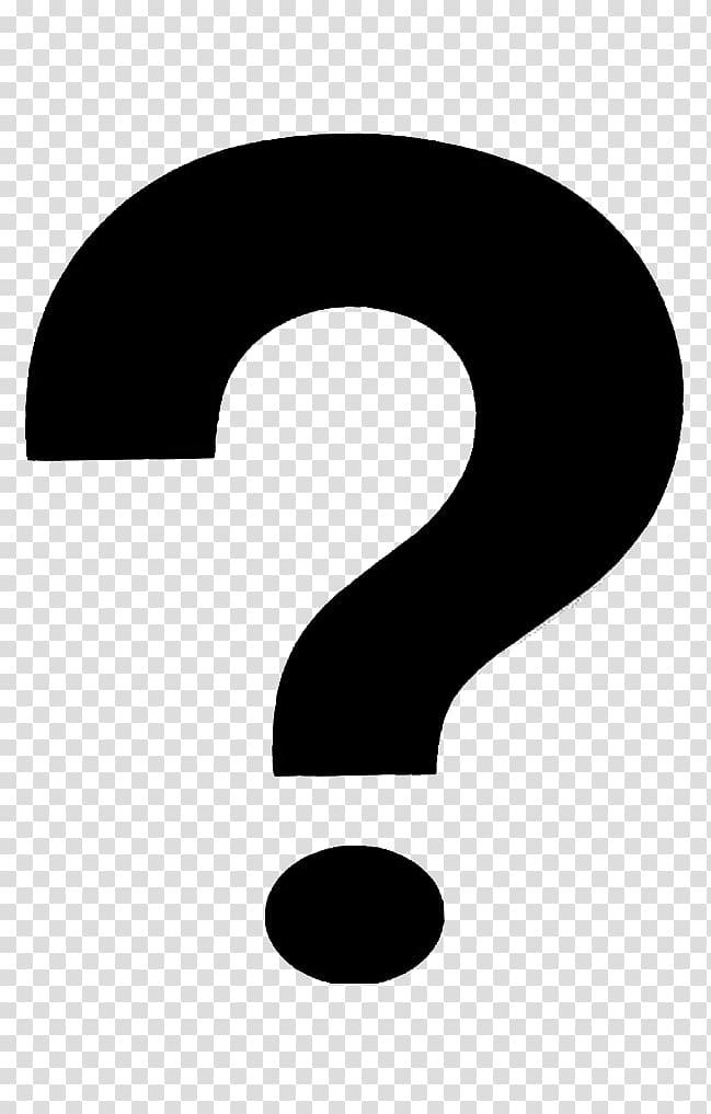 Logo de marque Noir et blanc, point d'interrogation, point d'interrogation png