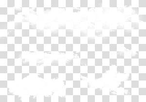 ciel nuageux blanc, motif noir et blanc, nuages de nuages png