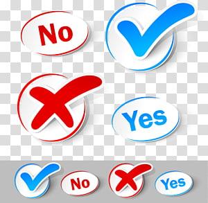 Autocollant Icône de coche, Matériau d'autocollant pour étiquette de brochette de coche, Oui Non illustration png