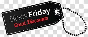 Black Friday Tag, étiquette Black Friday Discount, carte Black Friday grandes réductions png