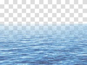 Etendue d'eau calme pendant la journée, fichier informatique Sea Blue Sky, mer bleue png