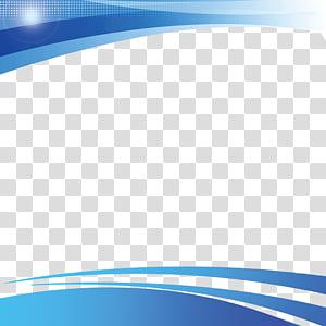 Étudiant, gestion des étudiants frontière bleue, illustration graphique blanc et bleu png