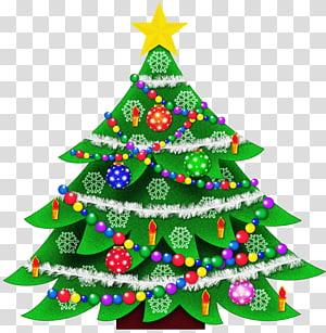Arbre de Noël, illustration de Noël png