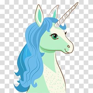 art de la licorne verte, dessin de licorne dessin animé, visage de licorne png