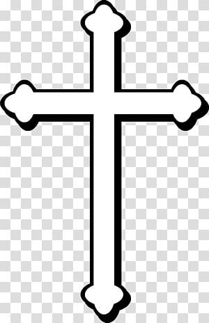 croix blanche sur fond noir, croix chrétienne christianisme croix celtique, croix chrétienne png