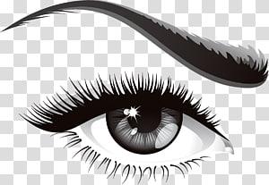 Produits cosmétiques pour sourcils Samsung Galaxy J7 Pro, oeil, oeil de femme droit png