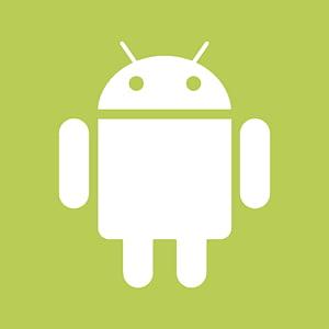 logo de texte d'herbe d'ordinateur, Android, logo Android png