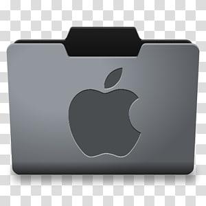 boîtier MacBook gris, systèmes d'exploitation Macintosh Répertoire d'icônes d'ordinateur, MacOS, acier Icône de dossier Classy Mac png