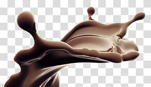 éclaboussures de chocolat liquide, éclaboussures de chocolat liquide png