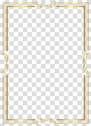 Motif de la zone jaune, cadre de bordure dorée, capture d'écran du pensionnaire couleur or png