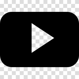 Icône de graphique évolutive YouTube, fichier de bouton de lecture png