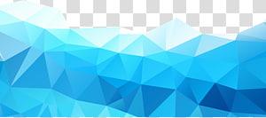 Abstraction, graphiques abstraits bleus, illustration de forme bleue et blanche png