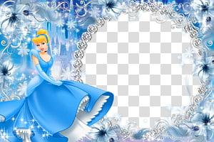 Illustration Cendrillon, cadre Blanche-Neige Princesse Disney, fichier Cendrillon png