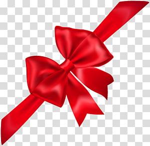 Icône, arc rouge, illustration du ruban rouge png