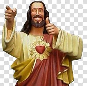 Jésus Christ, Jésus Dogme Buddy Christ Signal de pouce, Jésus Christ png