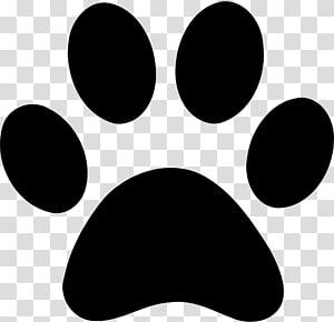 Impression de patte de chien, empreintes de pattes d'animaux png