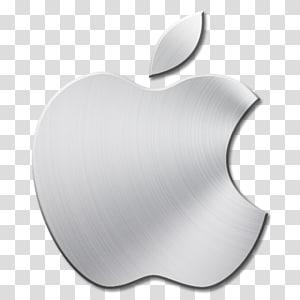 Logo Apple, icônes d'ordinateur au format Apple Icon, icône Apple Mac en métal brossé png