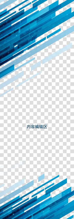 Design graphique, fond bleu admirablement lumineux Chin, blue png