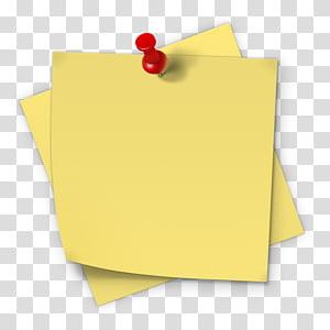Post-it note Papier autocollant Notes autocollantes Adhésif, pense-bête, notes autocollantes png