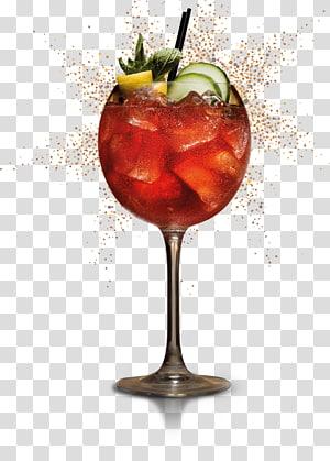 verre à vin clair, garniture de cocktail cocktail de vin Spritzer Punch, verre à cocktail png