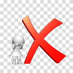Illustration de la marque X, coche Symbole Symbole X, fausse png