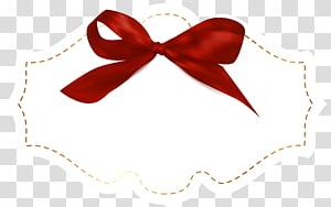 illustration de tableau rouge et blanc, prix du ruban, étiquette avec modèle arc rouge png