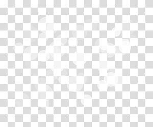 Ligne angle noir et blanc, Bokeh, illustration de nuage blanc png