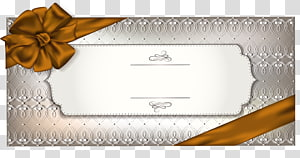 Emballage et étiquetage en papier, modèle de carte-cadeau, illustration du cadre gris png