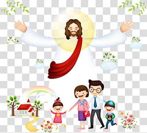 Jésus Christ, le christianisme biblique, Jésus avec des enfants png