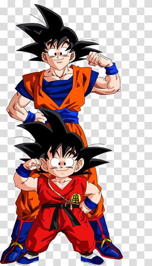 Illustration de Son Goku et Son Gohan, Goku Vegeta Trunks Dragon Ball Gohan, évolution png