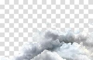 nuages blancs, nuages png