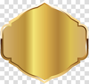 illustration étiquette dorée, étiquette, modèle d'étiquette d'or png