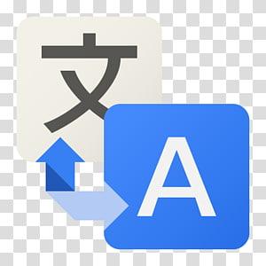 zone de texte bleu, Google Translate, logo en deux lettres png