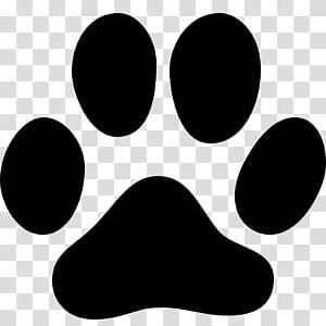 illustration de patte de chien, empreinte de piste de chien chat patte empreinte, empreinte png