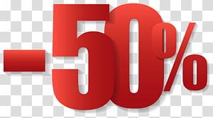 T-shirt Sales Clothing Shopping, 50% de réduction, 50% de superposition de texte png