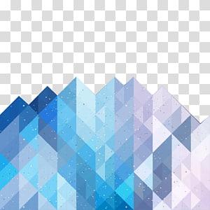 illustration géodésique, triangle géométrique, science et technologie png