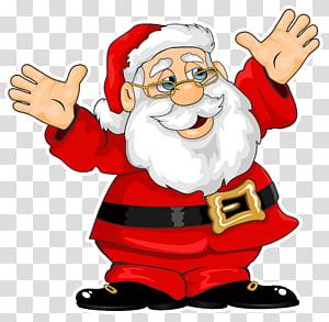 Village de Santa Claus Maison de père Noël cadeau de Noël, illustration de Santa Claus, Santa Claus png