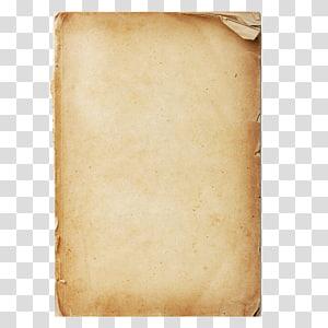 Papier kraft texture, feuilles de papier kraft nostalgie fond de texture, page de livre brun png
