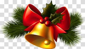 Cloche de Noël, cloche de Noël, illustration de cloche de Noël png