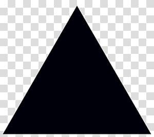 illustration noire triangulaire, icônes d'ordinateur triangle, images à l'échelle, triangle png