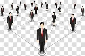 illustration de personnes, icône en métal, réseaux interpersonnels png