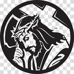 Illustration de Jésus-Christ, croix chrétienne Dessin Crucifixion de Jésus, christ png